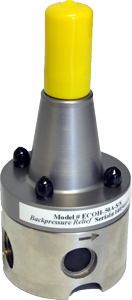AquFlow high flow capacity back pressure valve