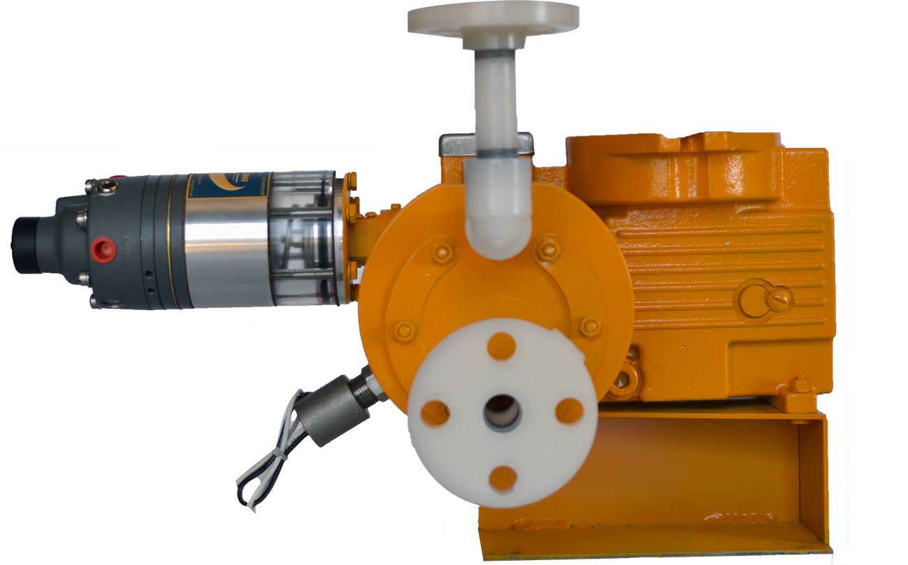 AquFlow's Pneumatic Capacity Control provides remote pump capacity adjustment from a manual loading station and/or in response to an instrument air signal