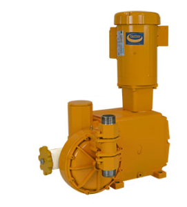 Oil & gas low flow hydraulic diaphragm metering pump