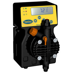 AquFlow Series 200 multifunction solenoid metering pumps are built for tough chemical dosing applications