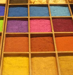 Dyes for paint and printing