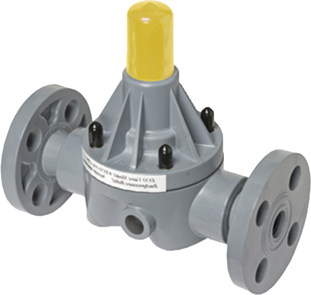 Safety relief valve prevents over-pressure in the discharge line