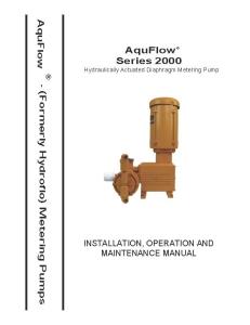 Series 2000 Manual
