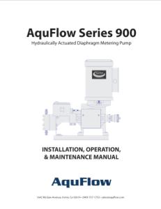 Series 900 Manual